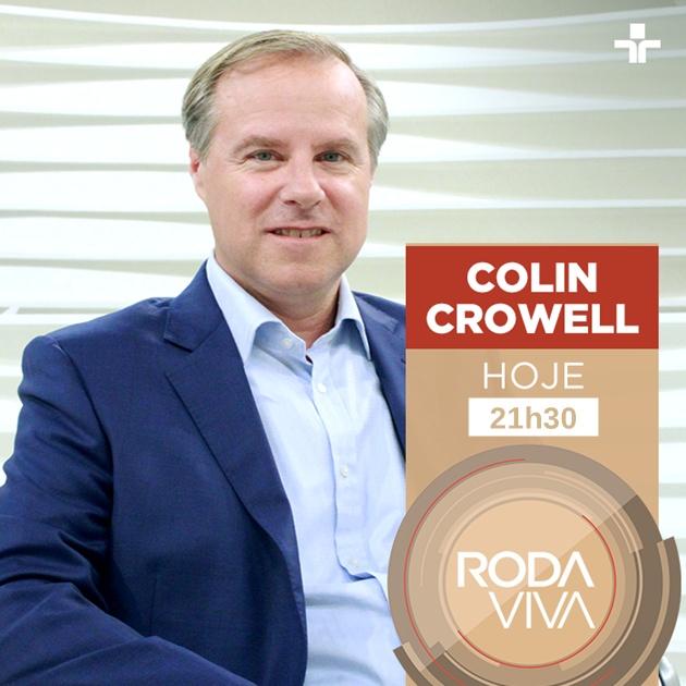 Roda Viva entrevista vice-presidente de Políticas Públicas do Twitter, Colin Crowell, em edição especial nesta quarta-feira. (Imagem: Divulgação)