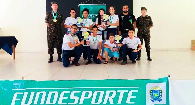 Jogos Escolas e da Juventude de MS tiveram disputas na Capital e Ribas; Marcelo Miranda fala dos torneios. (Foto: Fundesporte/Divulgação)