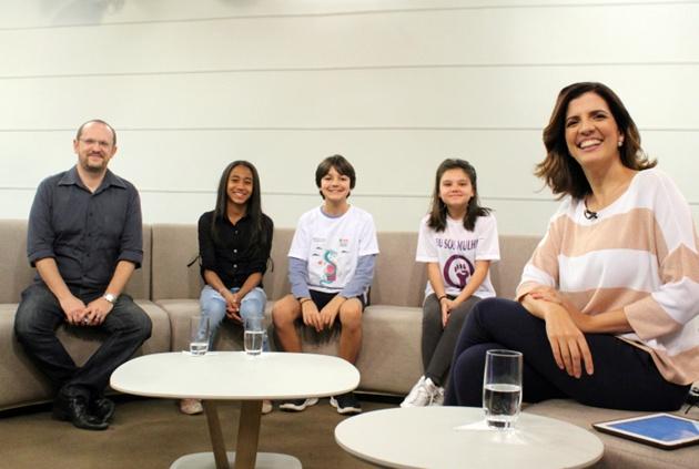 Panorama terá tês especiais entre quarta e sexta-feira alusivos ao Dia da Criança. (Foto: Maurício Abbade/TV Cultura)