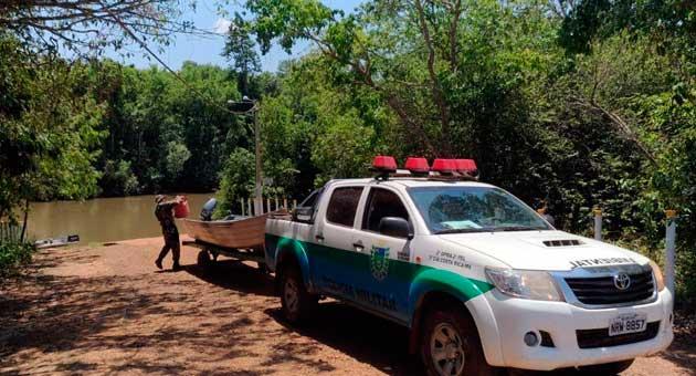 Fiscalização em rios federais começa nesta quarta-feira (31); nos rios estaduais, Piracema começa na segunda-feira (5). (Foto: PMA/Divulgação)