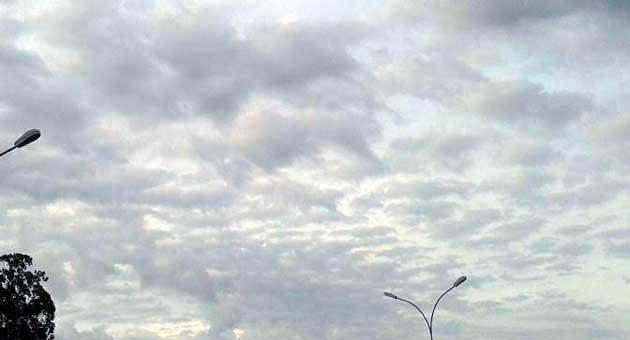 Dia será de céu parcialmente nublado com trovoadas em algumas regiões, prevê o Cemtec. (Foto: Ivanildo Gonçalves/Subcom)