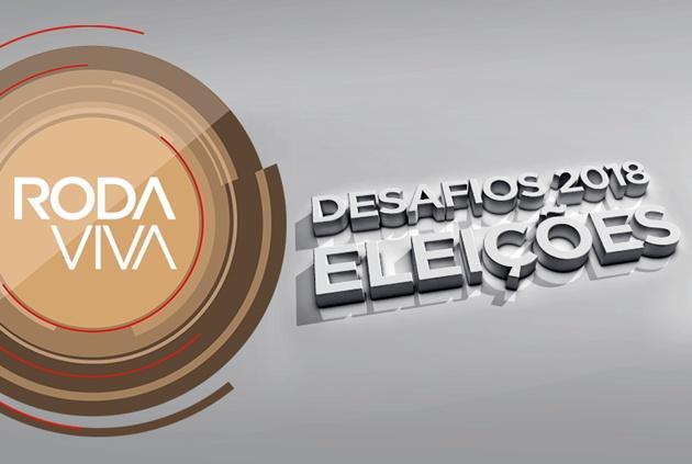 Com formato de mesa redonda, Roda Viva analisa o resultado das eleições no Brasil nesta segunda-feira (8); programa vai ao ar na TVE Cultura e pelo Portal da Educativa. (Foto: TV Cultura/Divulgação)