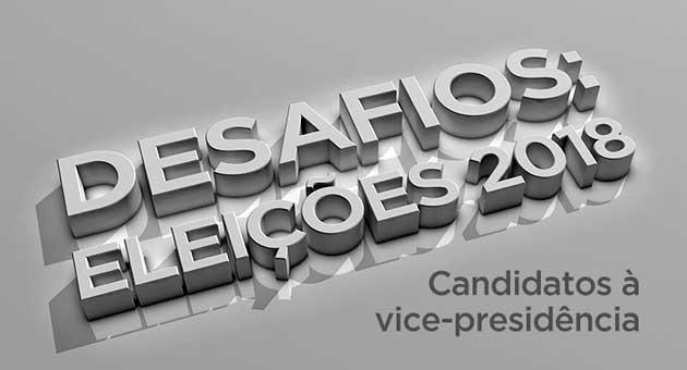 Mesa redonda com candidatos a vice-presidente será realizada nesta segunda-feira (1º) e transmitida pela TVE Cultura. (Imagem: TV Cultura/Divulgação)