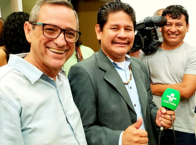 Bosco Martins, Sidney Terena e Emerson Silva: A Voz Indígena chega à TVE Cultura no ano que vem