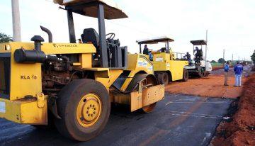 Governo vai asfaltar Parque Industrial de Naviraí com investimentos de R$ 8,7 milhões