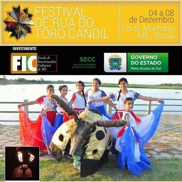 Festival em homenagem ao Toro Candil acontece em dezembro em Porto Murtinho. (Imagem: Divulgação)