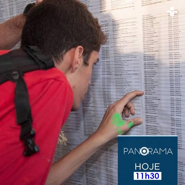 Panorama desta sexta-feira (23) analisa os vestibulares no país. (Imagem: TV Cultura/Divulgação)