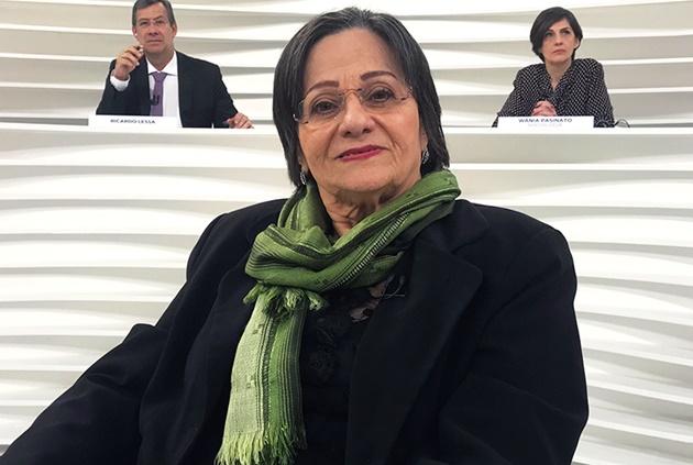 Maria da Penha será entrevistada no Roda Viva desta segunda-feira (26). (Foto: TV Cultura/Divulgação)