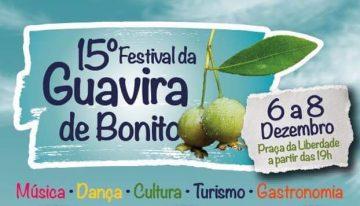 Festival da Guavira começa hoje em Bonito com programação diversificada