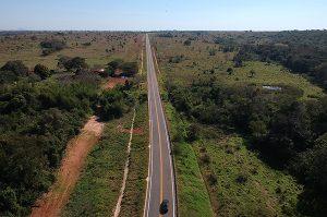 Pavimentação da MS-178, a Estrada do Curê, melhora o acesso às regiões e cria novas perspectivas para o turismo e o agronegócio. (Foto: MS.Gov/Divulgação)