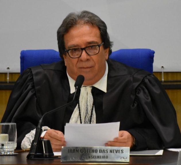 Conselheiro Iran Coelho das Neves, novo presidente do TCE. (Foto: Mary Vasques/Divulgação)