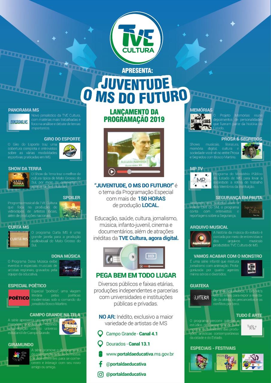 Campo Grande na Tela será exibida na nova programação da TVE Cultura -  Portal da Educativa abf74b3491115