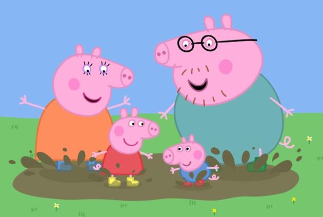 Peppa Pig, sua família e amigos chegam para nova temporada na TVE Cultura, com exibição a partir das 6h15. (Imagem: Divulgação)