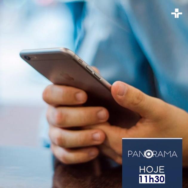 Relação entre o homem e os smartphones é tema do Panorama desta terça-feira. (Imagem: TV Cultura/Adaptação)