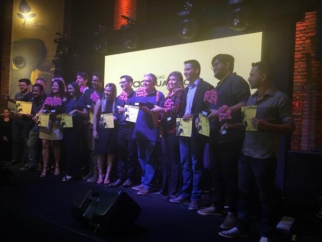 Premiados pela Águas Guariroba em nona edição do Prêmio de Jornalismo Ambiental. (Foto: Arquivo pessoal/Divulgação)