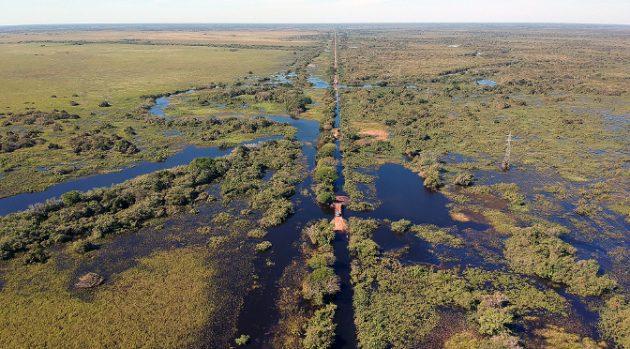 Paisagem do Pantanal Sul-Mato-Grossense, que vai experimentar calor no início do verão. (Foto: Edemir Rodrigues/Subcom/Arquivo)