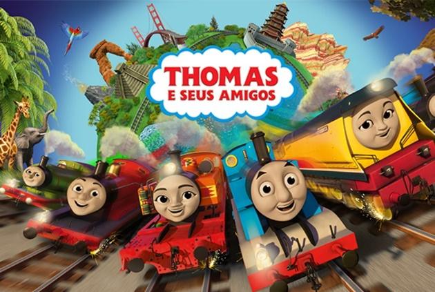 Thomas e Seus Amigos chega à 22ª temporada valorizando temas como a amizade; filme vai ao ar no dia 22. (Foto: TV Cultura/Divulgação)