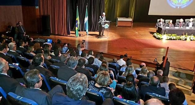 Eleitos em outubro foram diplomados pelo TRE em cerimônia transmitida ao vivo também nas redes sociais. (Foto: Arquivo pessoal/Divulgação)