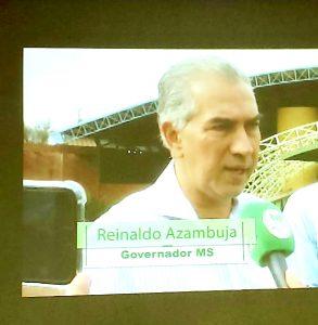 Governador Reinaldo Azambuja será diplomado, procedimento antecede a posse em 1º de janeiro. (Foto: TVE/Reprodução)