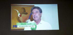 Murilo Zauith frisou qualidade da programação da TVE Cultura, inclusive da faixa focada nas crianças e adolescentes. (Foto: Maurício Borges)