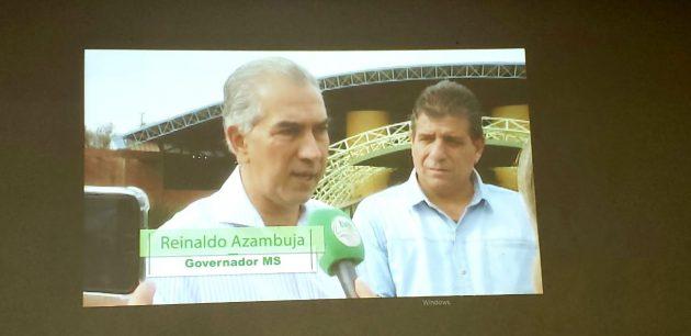 Governador Reinaldo Azambuja, em entrevista, destacou importância de uma programação de qualidade na TVE Cultura. (Foto: Maurício Borges)