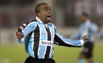 Ânderson Lima faturou a Copa do Brasil e o Gauchão de 2001 pelo Grêmio. (Foto: Divulgação)