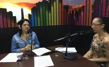 Fabiane Dittmar Duarte detalhou no Bom Dia Campo Grande como funcionarão as ações de prevenção contra ISTs durante o Carnaval. (Foto: Rose Rodrigues/Fertel)