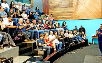 Secretário-adjunto de Governo e Gestão Estratégica destacou papel da TVE Cultura, Educativa 104.7 FM e do Portal da Educativa no contato com a sociedade (Foto: Maurício Borges/Fertel)