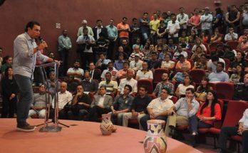 Marcelo Miranda, em edição anterior do Fórum de Políticas Públicas para o Esporte e Lazer; evento acontece na sexta-feira em Campo Grande. (Foto: Fundesporte/Divulgação)