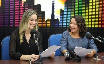 Lívia Machado e Dani Benante comandam o Jornal da Educativa de segunda a sexta-feira, das 12h às 13h. (Foto: Pedro Amaral)