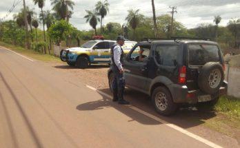 BPMRv aumentou a fiscalização nas rodovias estaduais, PRF também promove ação. (Foto: BPMRv/Divulgação)