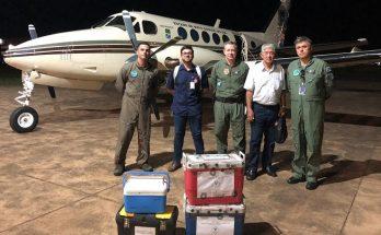 Aeronaves da Casa Militar são usadas em missões humanitárias, como o transporte de órgãos. (Foto: Divulgação)