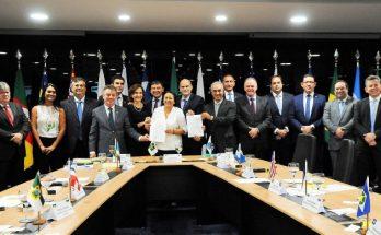 IV edição do Fórum dos Governadores no DF. (Foto: Paulo H. Carvalho, da Agência Brasília)