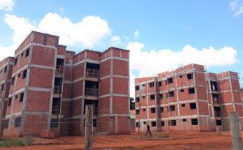 São 602 apartamentos em construção na Capital. (Foto: Agehab)