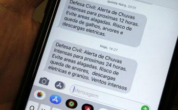 Alerta da Defesa Civil sobre chuvas fortes vale até as 10h desta quinta-feira. (Foto: Chico Ribeiro/Subcom)