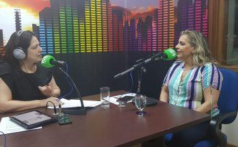 Ana Paula Batistuti (à direita), presidente do ICF-MS, em entrevista a Maristela Cantadori no Bom Dia Campo Grande. (Foto: Pedro Amaral/Fertel)