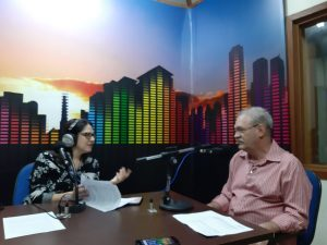 Secretário também falou sobre ações que visam a regionalizar a saúde e otimizar a gestão. (Foto: Humberto Marques)