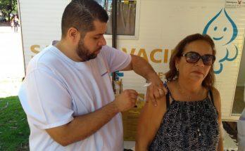 População acima dos 60 anos já pode se vacinar contra a Influenza. (Foto: PMCG/Divulgação)