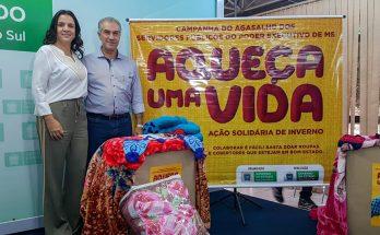 Governador e primeira-dama, madrinha da campanha, lançaram ação nesta terça-feira