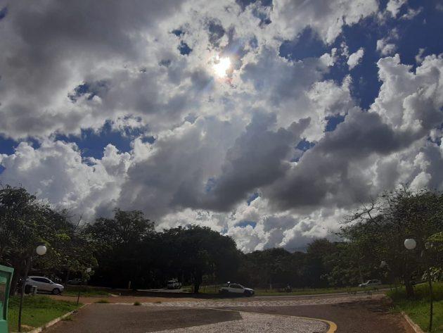 Meteorologia colocou a Capital no trajeto de tempestades até esta quarta-feira (1º). (Foto: Humberto Marques)