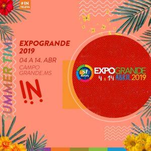 Expogrande 2019 é um dos destaques do Nossa Música É Assim. (Imagem: Divulgação)