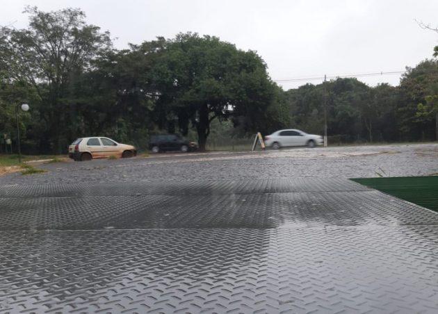 Previsão é de tempo nublado e chuvoso na Capital, pelo menos, até o fim do sábado. (Foto: Humberto Marques)