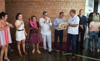 Mostra foi aberta na manhã desta terça-feira na presença de Delinha. (Foto: Pedro Amaral/Fertel)