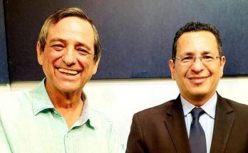 Bosco Martins e Paulo Passos: parceria entre Fertel e MPMS é frutífera para ambas as instituições. (Foto: Arquivo)