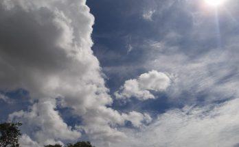 Quarta-feira promete ter céu entre parcialmente nublado e claro na Capital; no Estado, umidade começa a cair. (Foto: Humberto Marques)