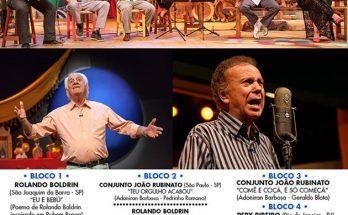 Confira as atrações do Sr. Brasil deste domingo. (Foto: Divulgação)