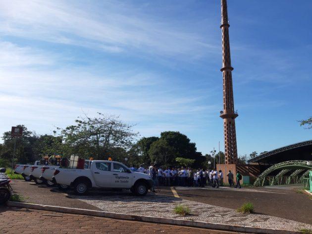 Força-tarefa deve passar por cerca de 140 repartições públicas e terrenos baldios. (Foto: Humberto Marques)