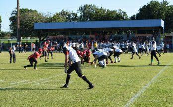 Decisão do Tereré Bowl em Terenos contou com transmissão da TVE Cultura. (Foto: Prefeitura de Terenos/Divulgação)