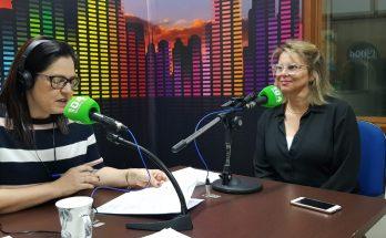 Giuliana Elisa dos Santos (à direita) falou ao Bom Dia Campo Grande sobre os riscos da Síndrome de Burnout. (Foto: Pedro Amaral/Fertel)