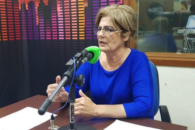 Mariah Barros destacou na Educativa 104.7 FM que há várias vacinas disponíveis também para a população adulta. (Foto: Pedro Amaral/Fertel)